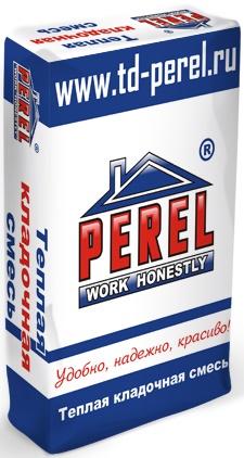 Perel Теплоизоляционная кладочная смесь - теплый раствор для керамических блоков 2020,25 кг