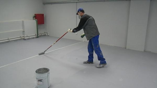 Окраска бетона рф купить грунтовка по бетону цена