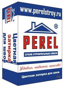 Perel Затирка для камня, клинкерной плитки, фасадных термопанелей, кирпичной кладки RL-05 белый 25кг